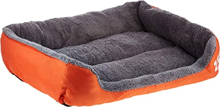 Mumoo Bear Dog Bed Super Soft Pet Sofa Cats Bed, Non Slip Bottom Pet Lounger, Self Warming and Breathable Pet Bed Premium ...
