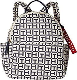 Classic Tommy Tote TH Canvas Backpack