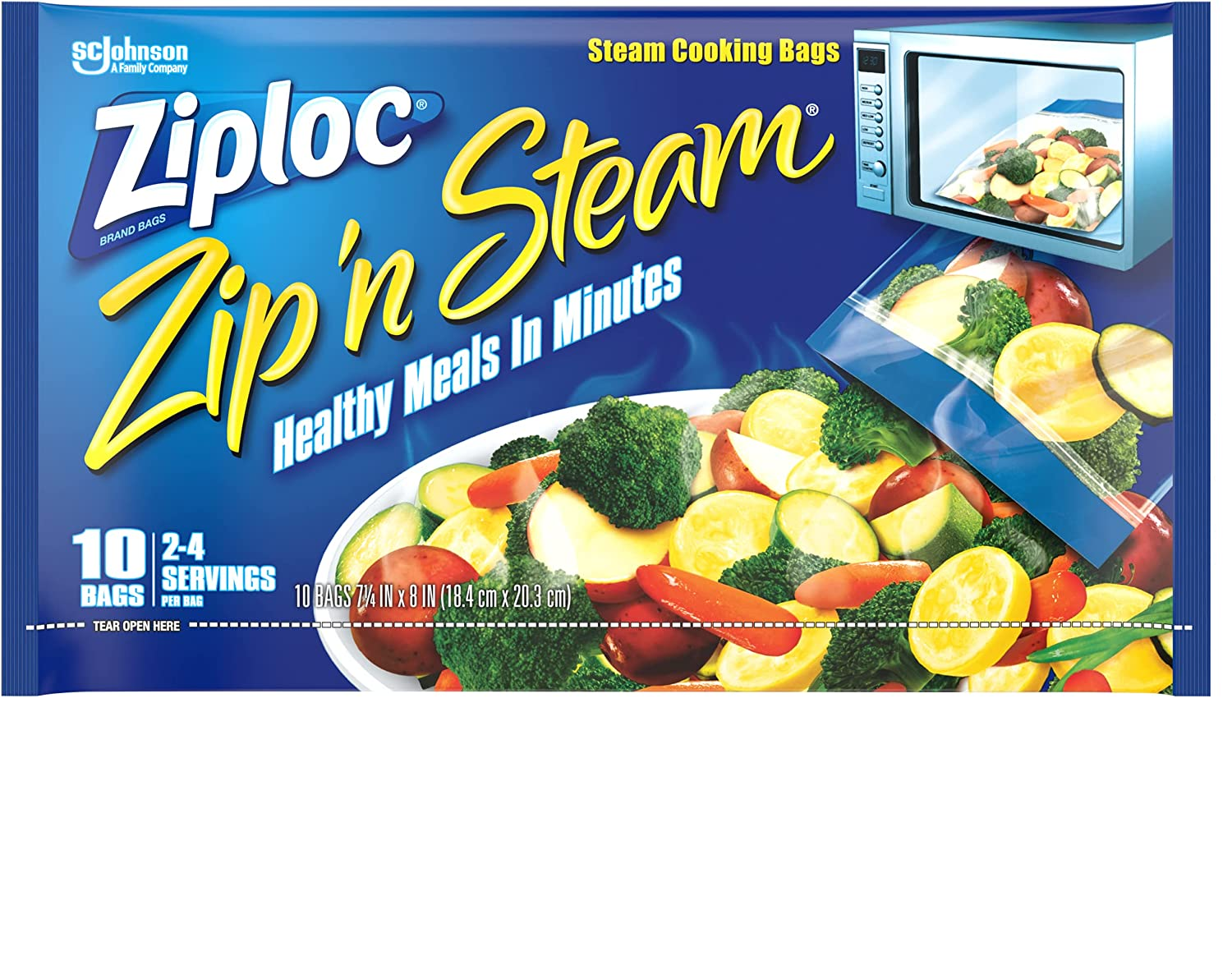 Ziploc Zip 'n Steam Meal Prep Cooking Steaming Max shipfree 62% OFF Bags Foo and For