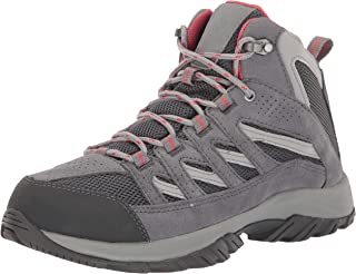 Columbia Women's Crestwood Mid Waterproof Hiking Boot, Breathable, High-Traction Grip