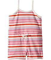 Multi Pink Beach Romper (Toddler/Little Kids/Big Kids)