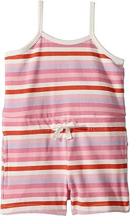 Toobydoo Multi Pink Beach Romper (Toddler/Little Kids/Big Kids)