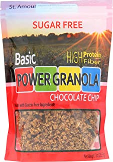 St Amour, Power Granola Chocolate Chip, 10 Ounce