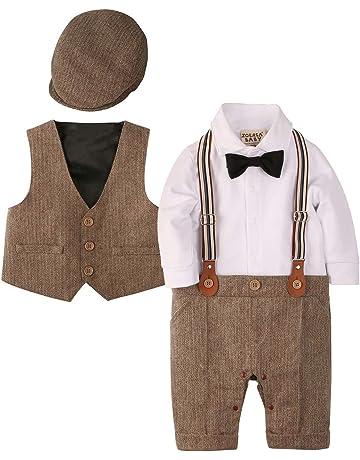 72640bb55e150 ZOEREA(ゾエレア) ベビーフォーマル ロンパース 赤ちゃん カバーオール フォーマル 男の子 子供服 結婚式服