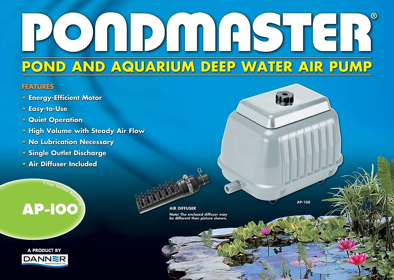 2 PONDMASTER 04540 AP-40 Deep Water Pond Aquarium Air Pumps AP 40-290 Cubic