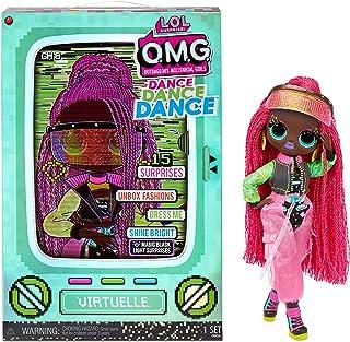 LOL Surprise OMG Dance Dance Dance Virtuelle Fashion Doll with 15 Surprises Including Magic Black...