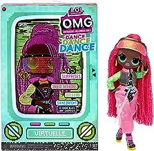 LOL Surprise OMG Dance Dance Dance Virtuelle Fashion Doll with 15 Surprises Including Magic Black Light, Shoes, Hair Brush...