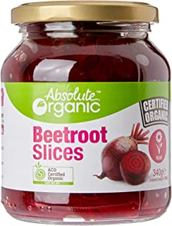 Absolute Organic Beetroot Slices, 340g