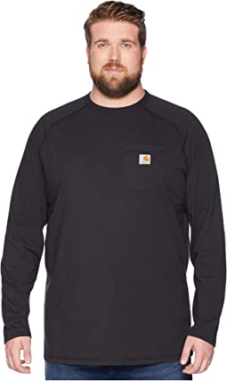 Big & Tall Force Cotton L/S Tee