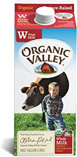 Best Organic Valley, Organic Whole Milk, Ultra Pasteurized, Half Gallon, 64 oz Review