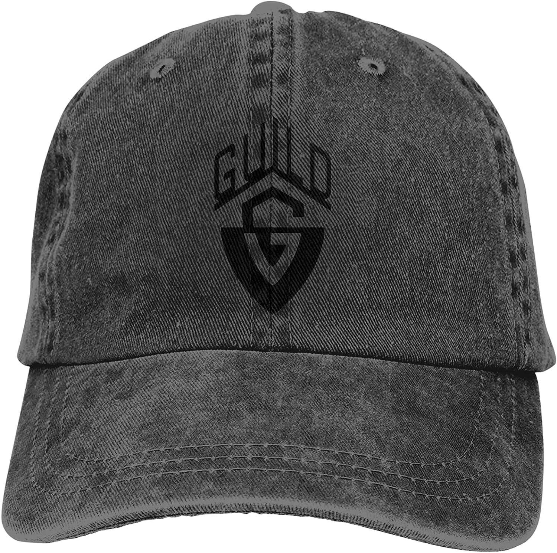Basketball 3D Guild Guitars Printing Classic Cap Baseball Cap Black