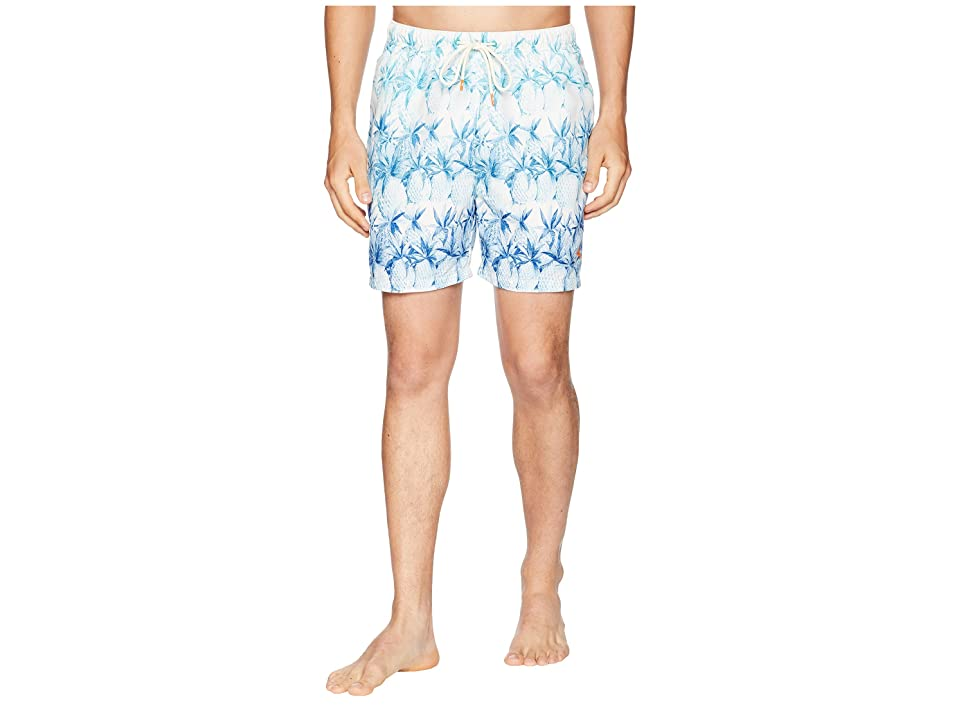 Tommy Bahama Naples Fruit of Tulum Swim Trunk (Santorini Blue) Men