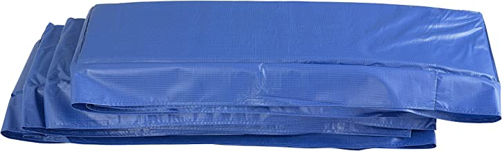 Upper Bounce Super Trampoline Replacement Safety Pad (Spring Cover) Fits for 8' X 14' Rectangular Frames - Blue