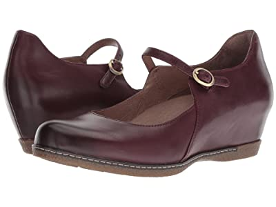 Dansko Loralie (Wine Burnished Calf) Women