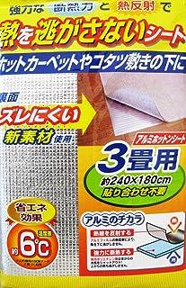 ワイズ 保温シート アルミホットンシート 3畳用 SS-795