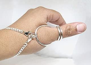 silver ring splints thumb