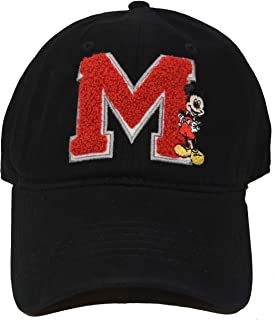 Disney Mickey Mouse Classic M Adjustable Baseball Cap Hat Black