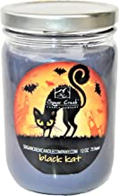 Sugar Creek | Black Licorice Soy Scented Candle (Black Cat) - Halloween Candles Collection | 100% Natural - Non Toxic | 12 oz Jar