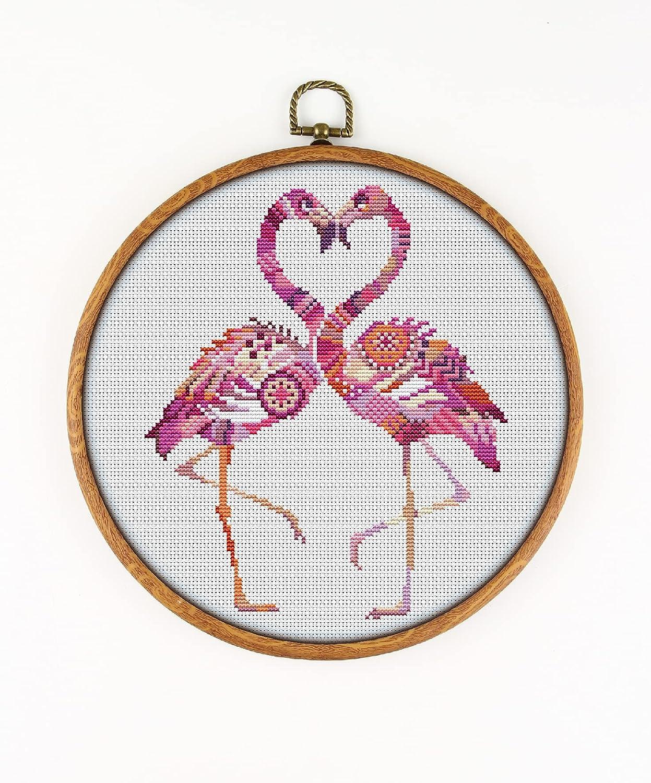 Mandala Flamingo K288 Counted Direct sale of New item manufacturer Cross Threads Needl KIT#3. Stitch
