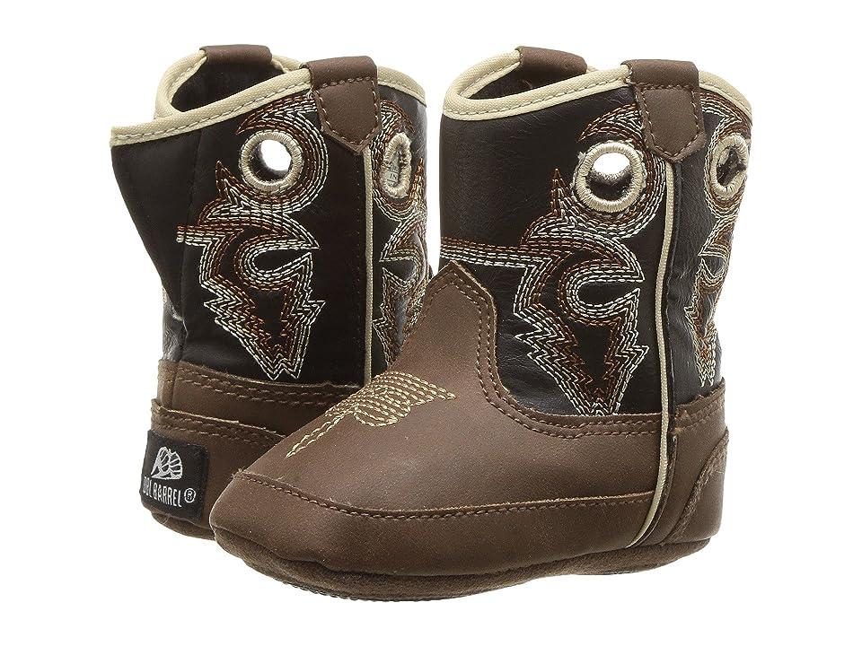 M&F Western Kids Bucker Trace (Infant/Toddler) (Brown/Black) Boys Shoes
