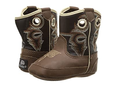 M&F Western Kids Bucker Trace (Infant/Toddler) (Brown/Black) Boys Shoes