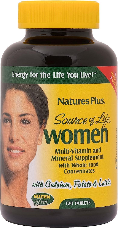 NaturesPlus Limited price Source of Life Women Selling Multivitamin Vegetarian - 120 T