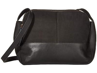 ABLE Meron Crossbody (Black) Handbags