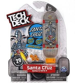 TECH DECK SANTA CRUZ Skateboard Borden snake eye série 8 touche en 20 ans