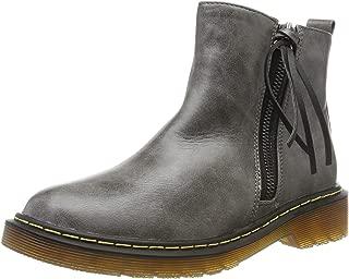 Smilun Lady¡¯s Zip Ankle Boot Tassel Western Heel High-Top Shoes