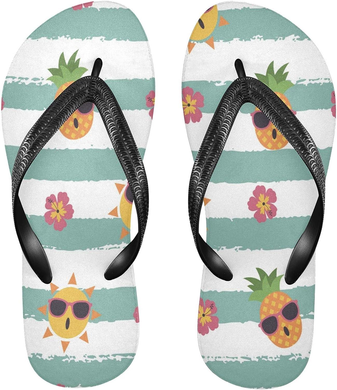 Nander Sun Glasses Women's Sandal Flip Flops Soft Comfortable Beach Slippers Unisex Adult Durable Flip Flops Shower Shoes