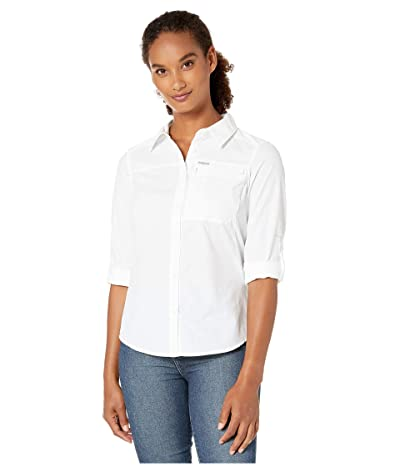 Columbia Silver Ridgetm 2.0 Long Sleeve Shirt (White) Women