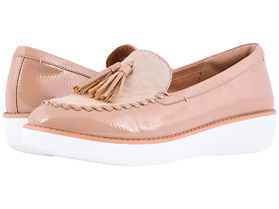 FitFlop Petrina Faux Pony Moccasin (Taupe) Women