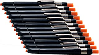 Listo 1620 Orange Marking Pencils, Box of 12, Grease Pencils / China Marking Pencils / Wax Pencils (Color: Orange)