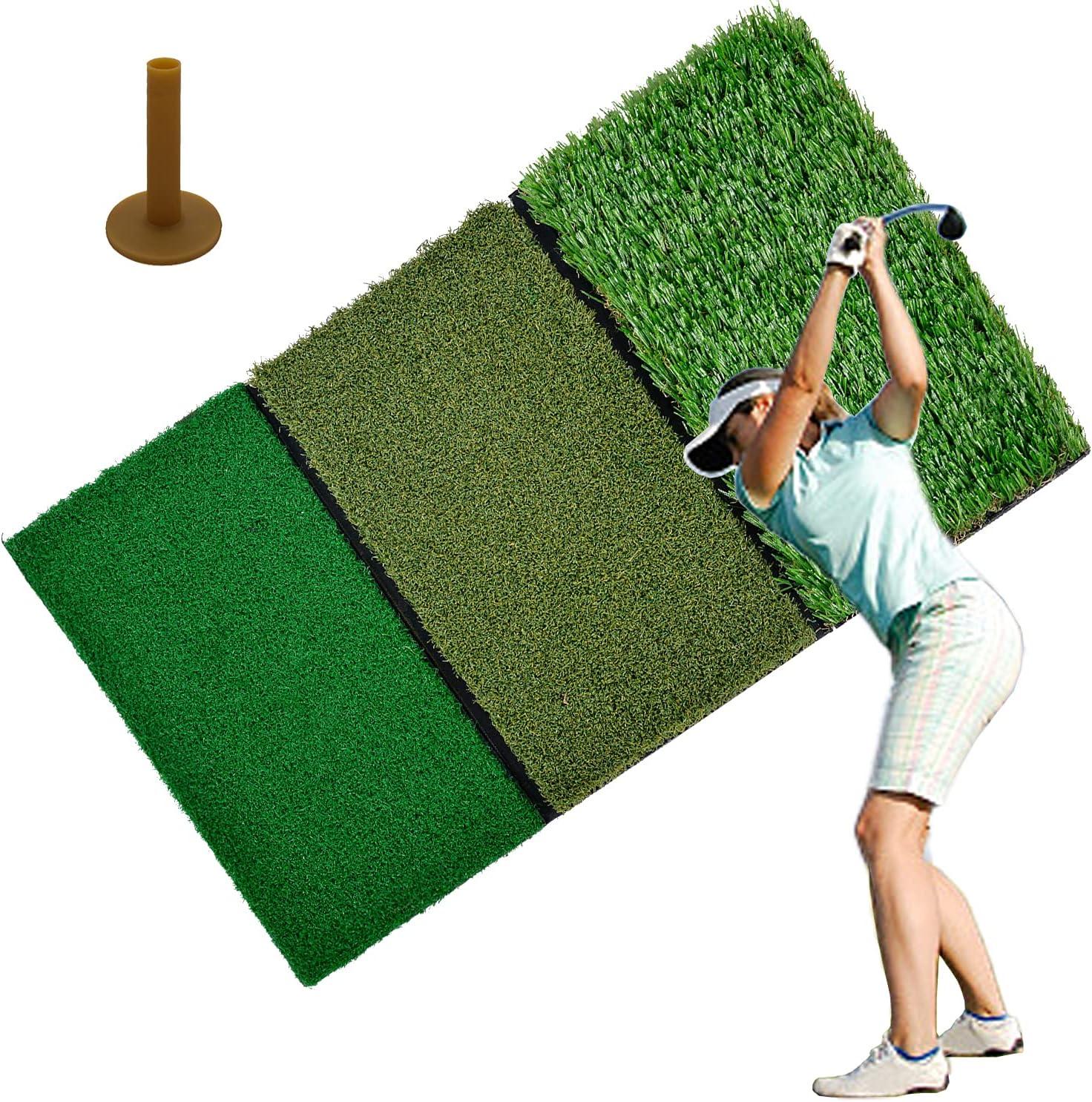 Doubleriver Golf San Francisco Max 55% OFF Mall Hitting Practice Mat Turf