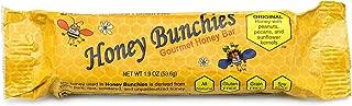 Honey Bunchies Gourmet Honey Bar (10 Pack, 1.9 Oz. per Bar) All-Natural Honey Peanut Pecan Snack Bar for Long-Lasting Energy & Nutrition - Gluten-Free, Grain-Free & Soy-Free