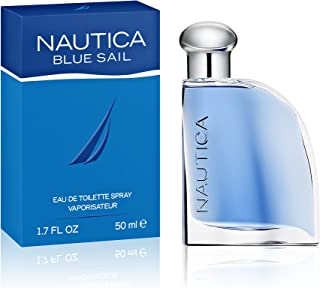 Nautica Blue Sail Eau de Toilette for Men, 1.7 oz., Nautica's Classic Men's Scent, Water & Sailing Inspired Fragrance, Great Gift
