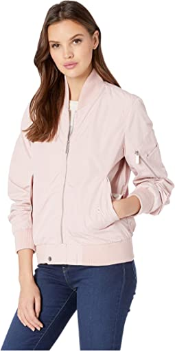 Bomber Jacket w/ Sleeve Pocket