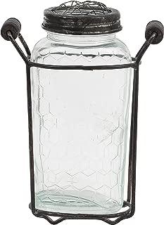 20cm glass vase