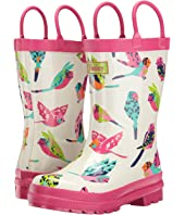 Hatley Kids - Tropical Birds Rain Boots (Toddler/Little Kid)