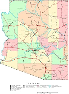 Best arizona state in map Reviews