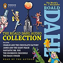 roald dahl audiobooks read by roald dahl