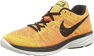 Nike Women's Wmns Flyknit Lunar3, PINK BLAST/BLACK-FIREBERRY-LASER ORANGE