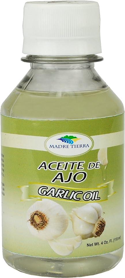 Madre Tierra Aceite de Ajo Garlic Oil 4 oz