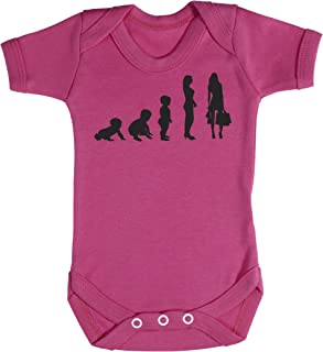 Baby Buddha Evolution to A Shopper Baby Bodysuit 100% Baumwolle