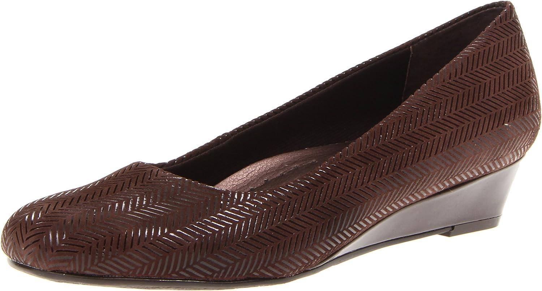 Trotters Women's Lauren Dress Wedge Large special El Paso Mall price US Dark Brown 8.5 N