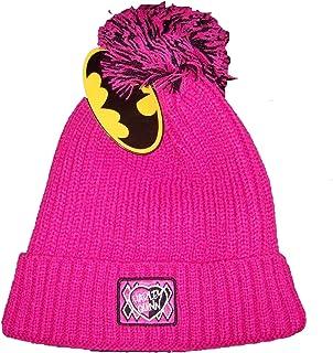 21b06d1bad0 DC Comics Batman Girl s Harley Quinn Winter Pom Pom Toque   Hat