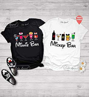 Minnie Bar Shirt, Food and Wine Festival Shirt, Epcot Shirt, Food Fest Vacation Shirt