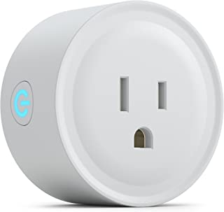 PowerBear Smart Plug | Wifi Plug | Voice and App Controlled Wi-Fi Mini Outlet | Amazon Alexa and Google Home Compatible [White] ¡­