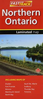 Northern Ontario- Fast Track - laminated map