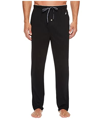 Nautica Knit Sleep Pants (True Black) Men